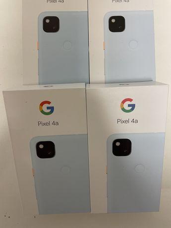 Google Pixel 4a 128GB Blue. Новые. Можно открыть.