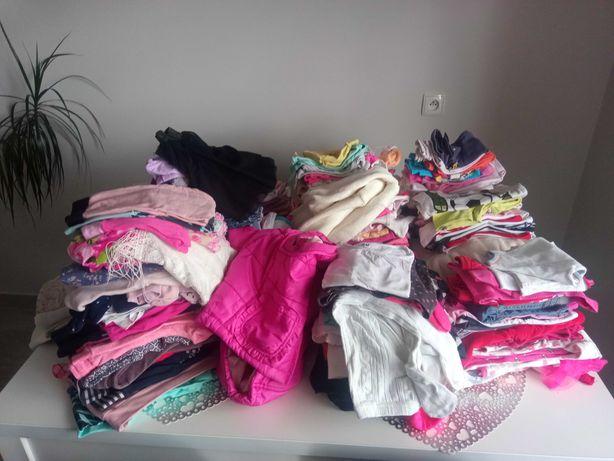Ubrania dla dziewczynki rozmiar 56 - 110