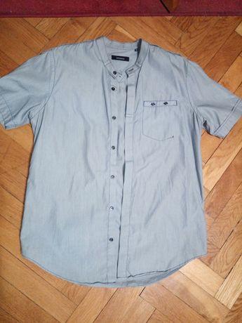 Markowa koszula jasno szara M
