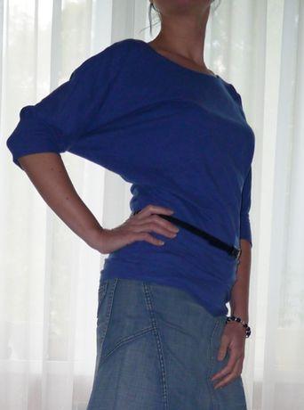 Топ / футболка / блуза 100% хлопок, рукав 3/4, р. М, состояние нового