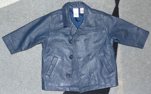 Продам кожаную куртку фирмы GAP на возраст 12-18 месяцев