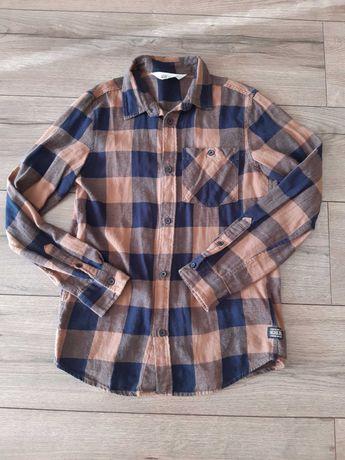 Koszula w kratkę rozmiar 146 cm H&M