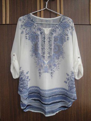 Элегантная шифоновая блузка. 52 - 54 р
