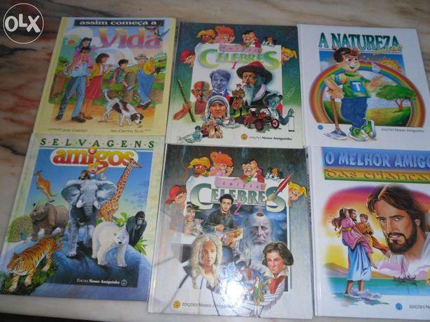 6 Livros infantis/juvenis
