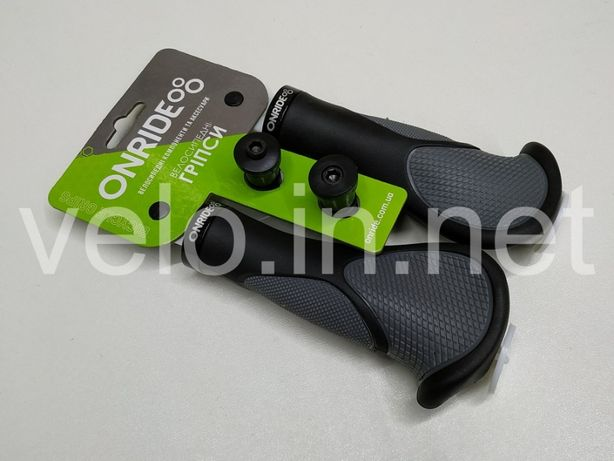 Грипсы, ручки руля ONRIDE HornGrip 10 чёрно-серые