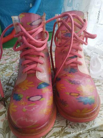 Резиновые сапожки (ботинки)