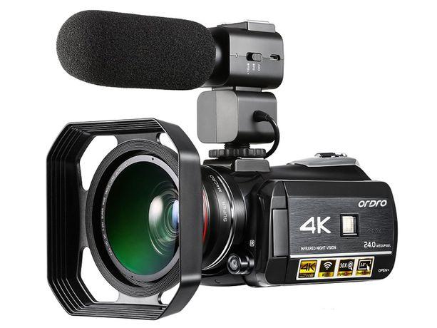 Kamera Cyfrowa Ordro 30xZOOM WIFI AC3 ULTRA HD 4K