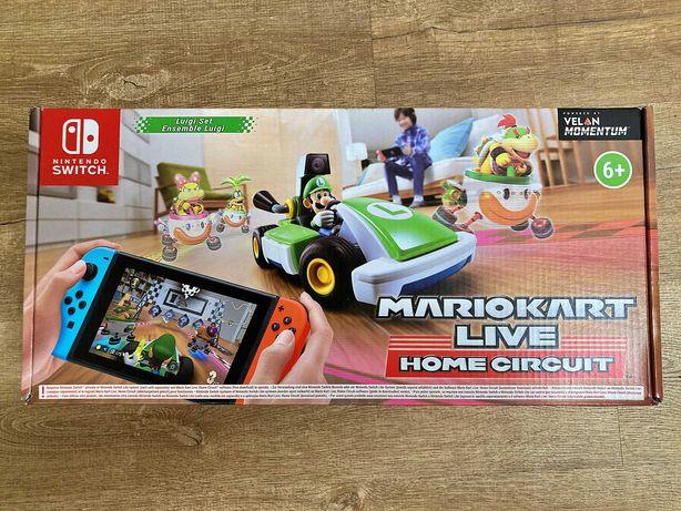 Mario Kart Live Home Circuit Nintendo Switch Luigi Set Nowa