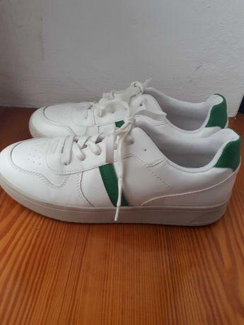 Adidasy białe z h&m nowe 41.