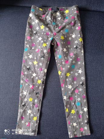 Красивые джинсы на девочку 5-6 лет.