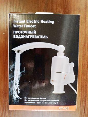 Проточный водонагреватель Delimano 3kWt Смеситель для кухни Делимано