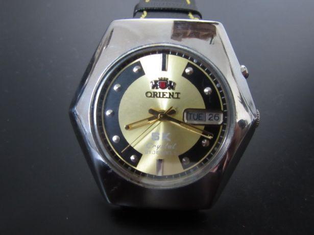 Relógio Orient automático dourado