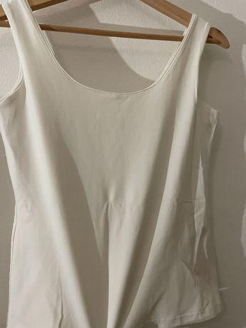 Blusa Branca Cavas L