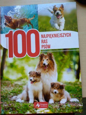 Książka 100 najpiękniejszych ras psów