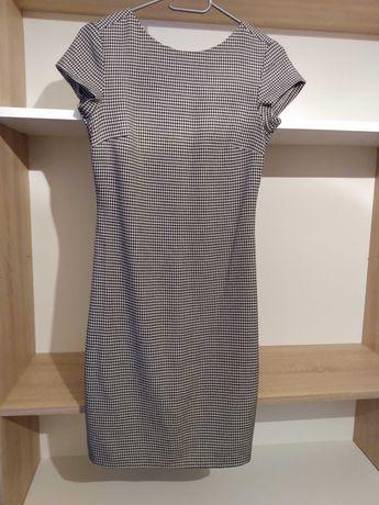 Sukienka w pepitke, rozmiar 34