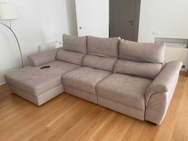 Sofá chaise longue reversível