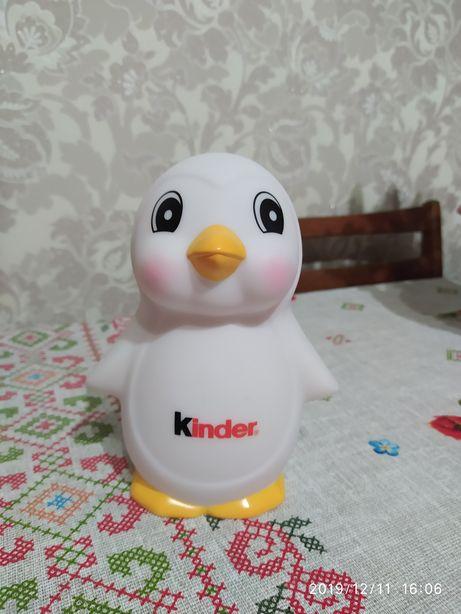 Светильник пингвин Киндер