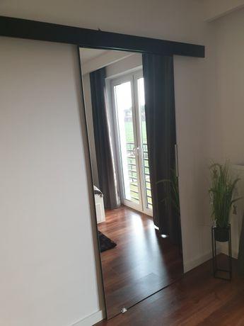Drzwi przesuwne, lustro 80cm x 205cm