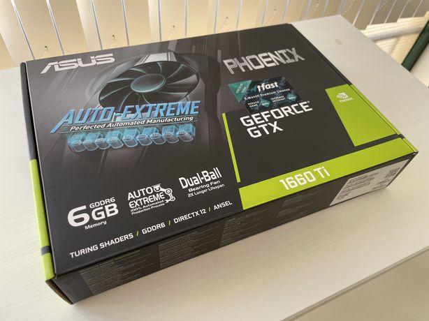 ASUS GeForce GTX 1660Ti 6GB - 31MH/s Ethereum