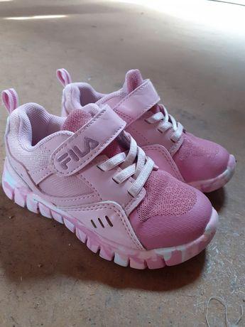 Adidaski Fila różowe