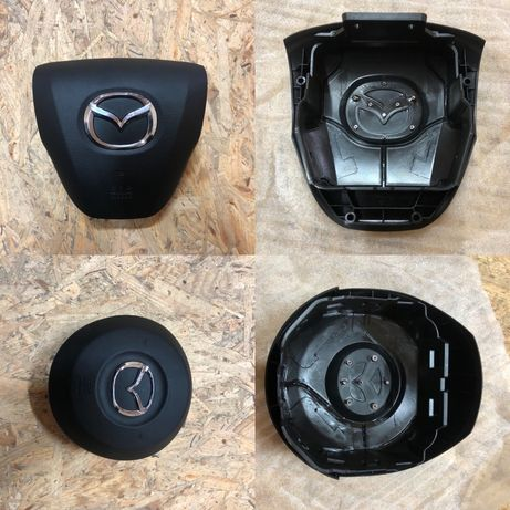 Крышки на руль мазда , mazda airbag srs подушки безопасности