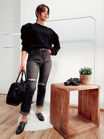 Trendy bluza O'la Voga, nowa z metką, czarna