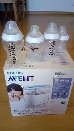 Estrelizador Philips avent 3 em 1 ou + 4 biberões