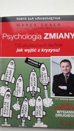 """Książka """"Psychologia zmiany"""" Marek Skała"""