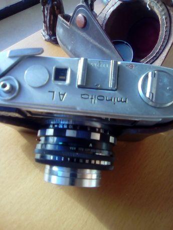 Máquina fotográfica minolta
