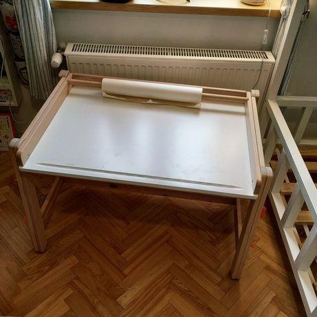 Biurko rosnace razem z dzieckiem stolik Ikea Flisat