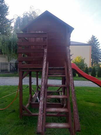 Domek drewniany dla dziecka