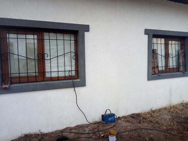 Решётки на окна, решётки на балкон. Заборы ворота и калитки