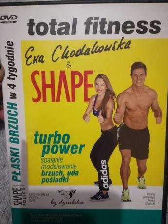 Płyta z ćwiczeniami fitness.