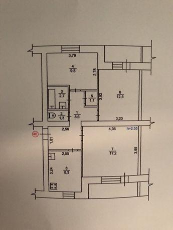 Продам квартиру-3 ком.