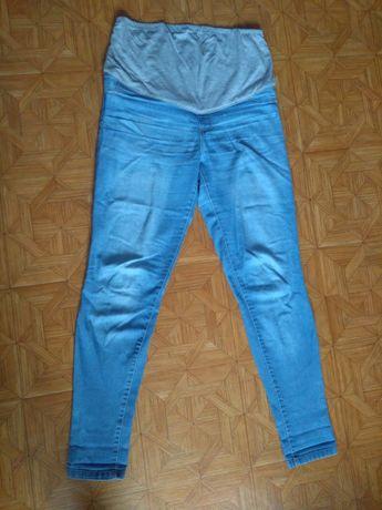 Spodnie ciążowe jeansy L