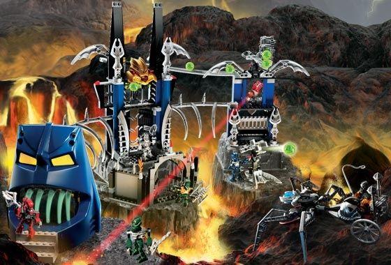 Лего 8894 Piraka Stronghold бионикл - конструктор Lego Бионикл