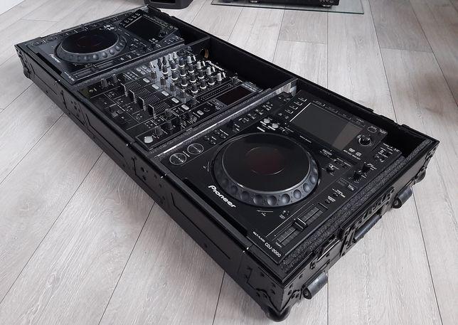 Zestaw 2xPioneer CDJ2000 I DJM800/Case/SUPER STAN/DJ