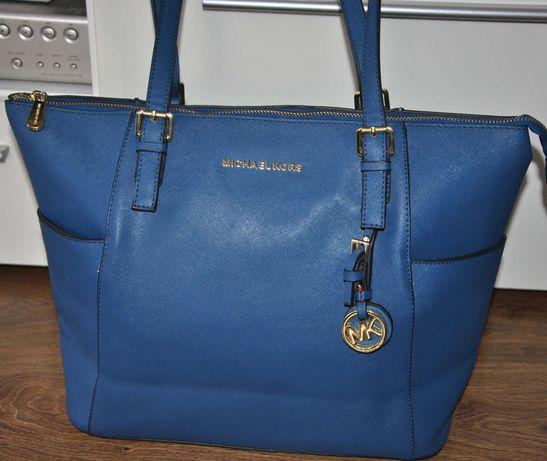 Michael Kors niebieska torebka MK