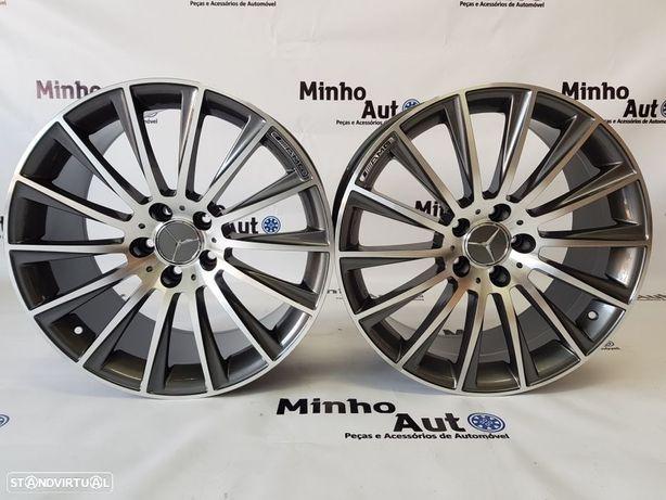 "Jantes Mercedes (C63) AMG Turbine em 19"" GunMetal"