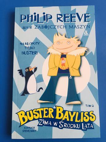 Książka Buster Bayliss Zima w środku lata. Philip Reeve. Nowa.