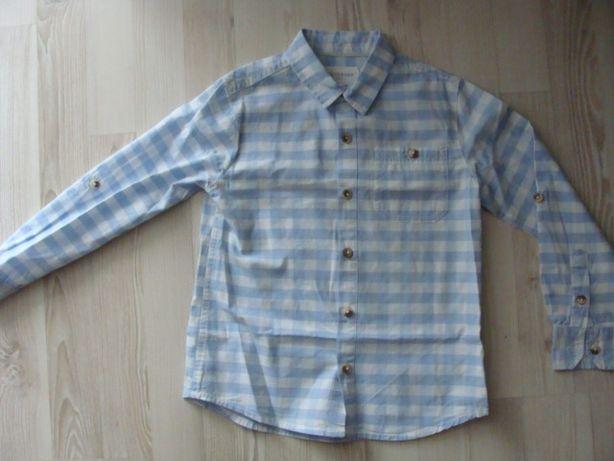 Elegancka koszula w kratkę rozm. 116