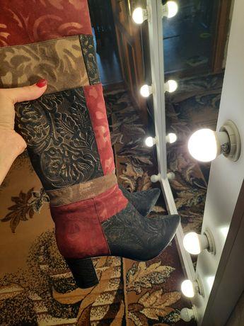 Сапоги, ботинки Fellini Италия, ботфорды,сапожки