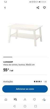 Mesa de Centro LUNNARP (IKEA)