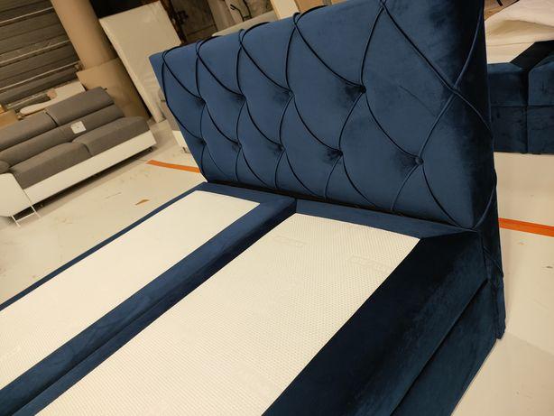 Łóżko kontynentalne, sypialniane , materac