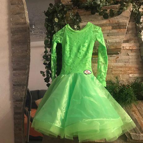 Платье для бальных танцев отличнейшее состояние, рост 156 см