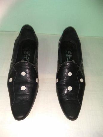 Туфлі жіночі шкіряні 37р. б/в
