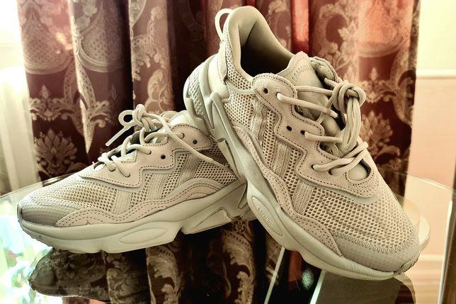 Кросовки летние, Adidas Ozweego, кросовки бежевые