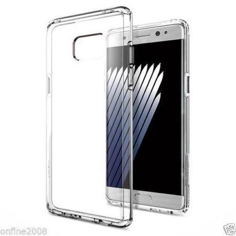 capa Silicone Samsung Note 7 transparente.