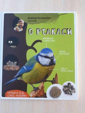 """Książka """"O ptakach Andrzej Kruszewicz"""