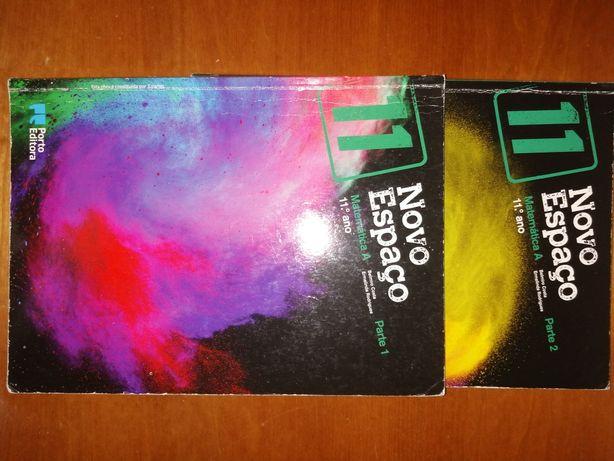 Livro de matemática 11°ano